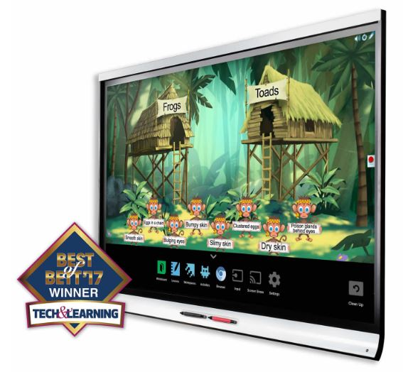 SMART Board 6000 series Best BETT 2017.JPG